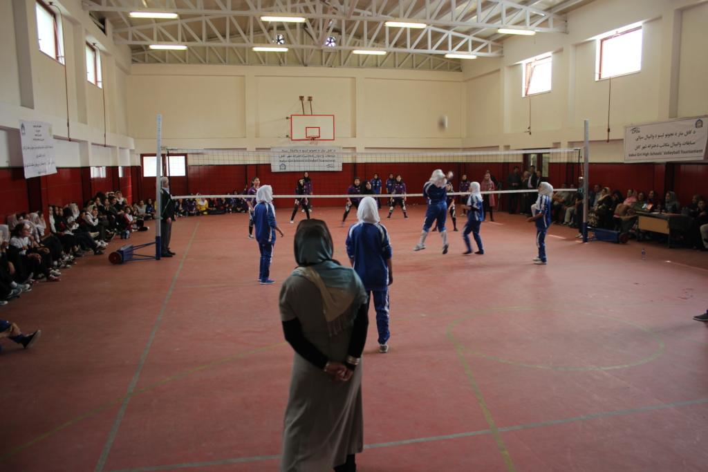 Final volleyball match between teams Sooria-Rabia