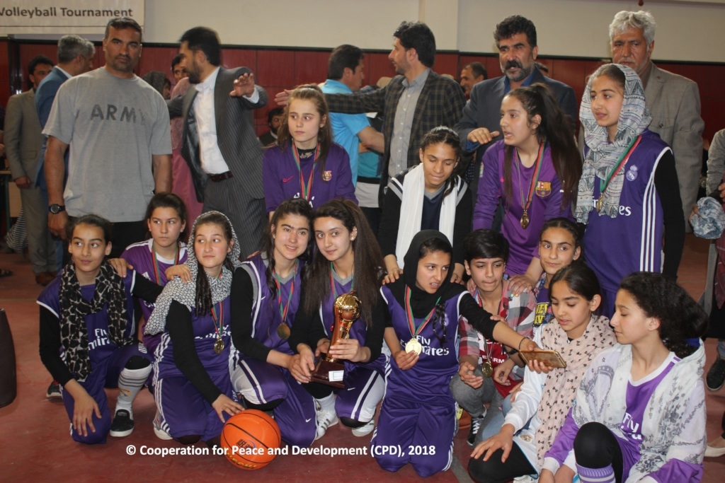 Team Qari Neik Mohammad, celebrating the victory