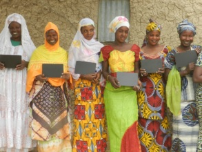 Participants in Our Female Adult Literacy Program