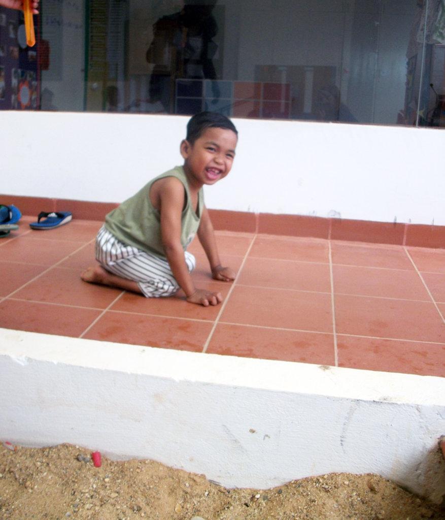 Pektra aged 4 at Epic Arts SEP class