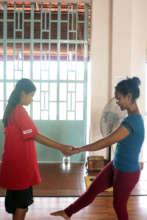 Teaching Assistant mentors student