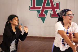 """Dancing makes me feel free""- IAC Student"