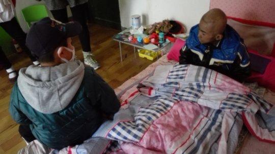 children with leukemia wait for final diagnosis
