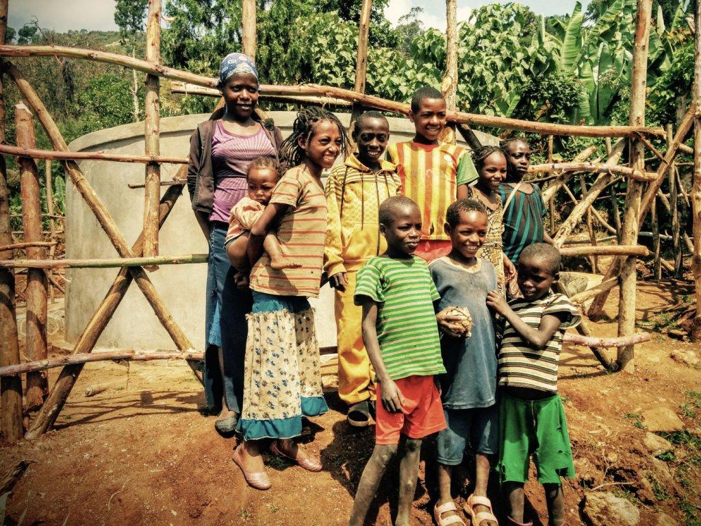 Bringing much needed clean water to Gezesso