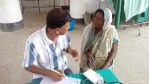 Chhabi connecting with qualified doctor