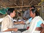 Health on wheels - Mobile health camp for poor