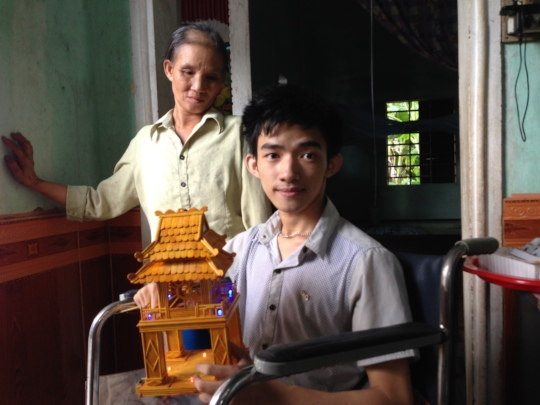 Mrs Do lost her beloved son Tuan to Agent Orange