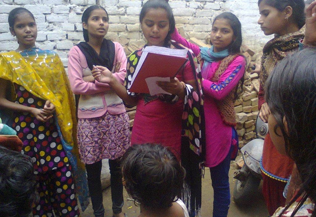Shaping Future of Adolescent Girls inLucknow Slums