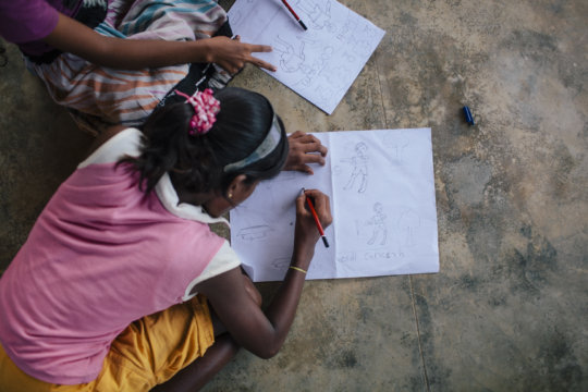 Children's Clubs Keep Girls Safe Thanks to YOU!