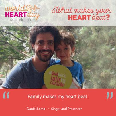 """""""FAMILY MAKES MY HEART BEAT"""""""