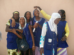 Scholars from WGEP Sisters-to-School Senegal