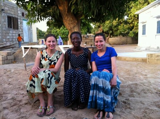 WGEP ED Amy, scholar Safora, and board member Lily