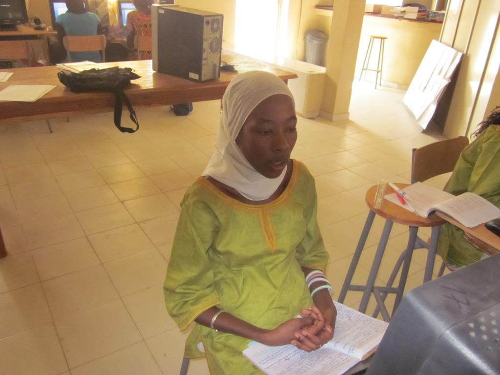 WGEP scholar Maimouna