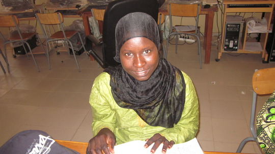 WGEP scholar Ndeye
