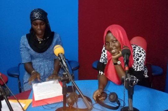 Absatou on the radio is Sokone