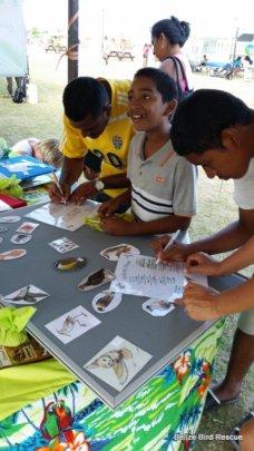 Educational outreach in Belmopan