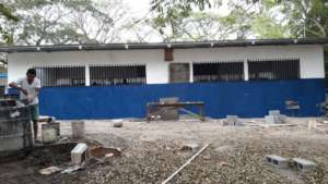 back of classrooms