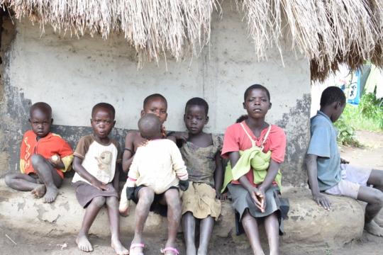 A few of Eyit Joe's children