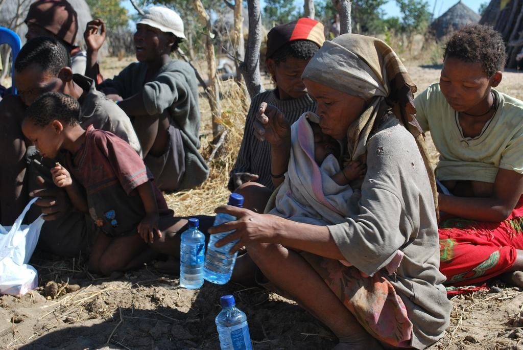 Provide food & water to 260 San People in Botswana