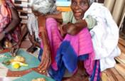 Food to neglected lonely elder women