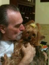 Ken with Sugar when she was healthy