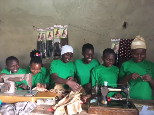 Support Girls and Women with Vocational Skills