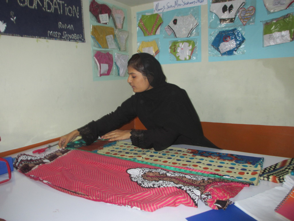 Skills for Earnings - Asma Karim is a Tailor Nows