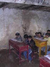 Classroom at Modi School
