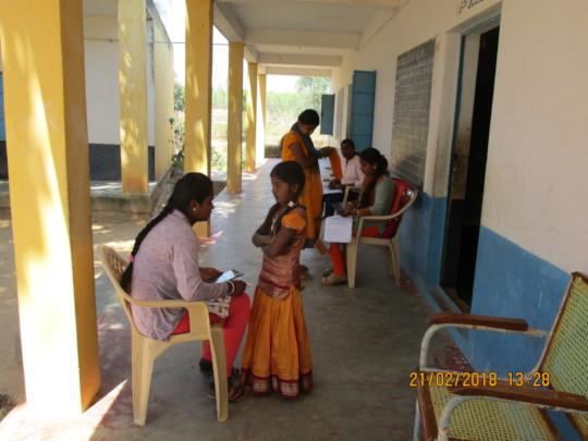 Oral Assessments at Chikkahosahalli