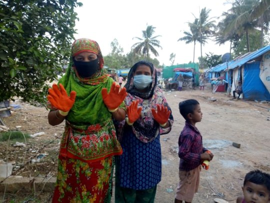 Protective Gloves for Waste Pickers