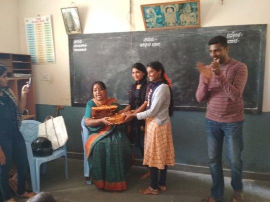 Thanking Usha Kumar