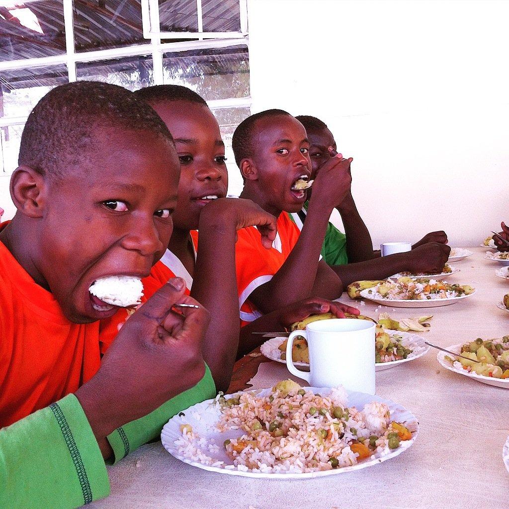 Holiday Camp for 81 kids from Kenya's Kibera slum