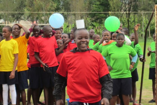 Holiday Camp for 81 kids from Kenya's Kibera slum