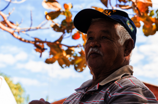 Marcos, farmer and training participant