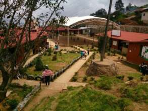 View from one of the participating schools