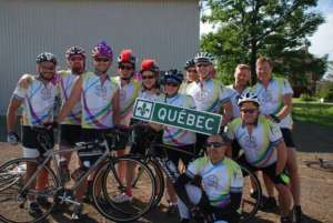Raching the Quebec border