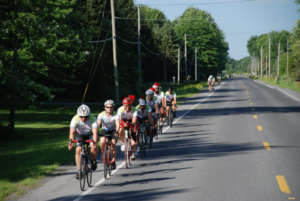 Riders enroute to Montreal