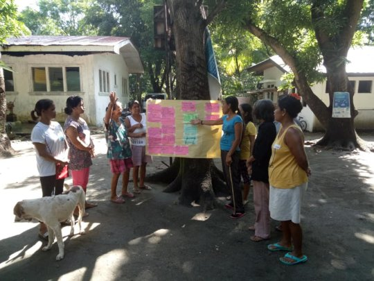 Community Workshop in Lian, Batangas