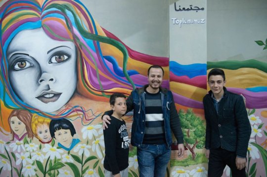 SMART art - Creating Amity through Art in Turkey