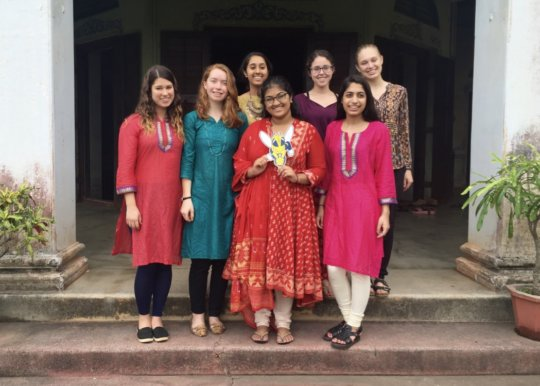 GROW interns at the district palace of Dhenkanal