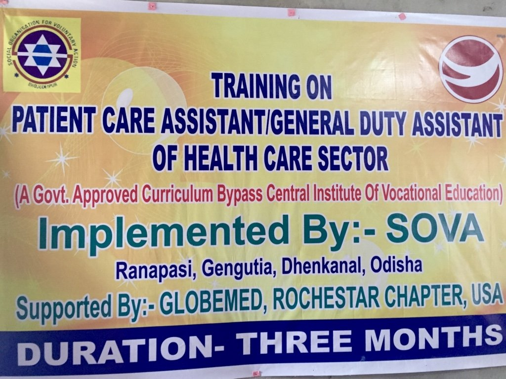 Invest in Medical Care Training for 30 Odian Youth