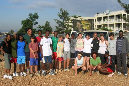 Students and Volunteers in Kigali
