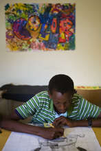 Student in Art Enrichment Program