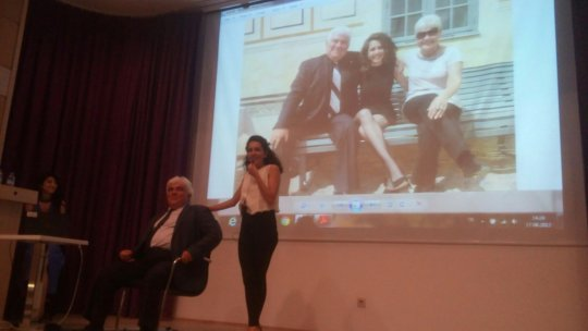 Miss Cansu shared her experiences with audiences