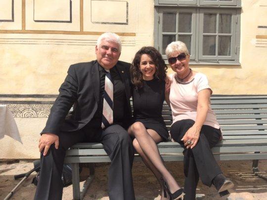 Mr.&Mrs Aygunduz with Miss Cansu