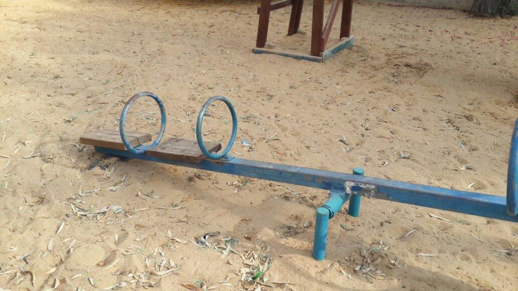 New playground for the Keshatot School