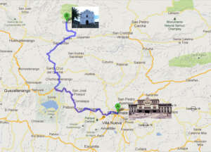 Chajul is a 10 hour bus ride from the capital