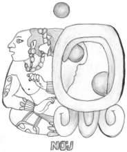 Mayan Glyph for Knowledge and Wisdom