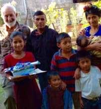 Maya Ixil Chajul Scholar receives school supplies