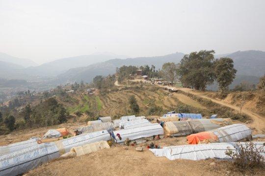 Damgade, one of 5 communities we work in.